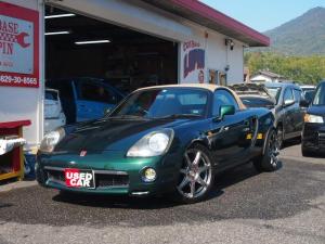 トヨタ MR-S Vエディション 車高調 17インチAW 本革シート 5速MT