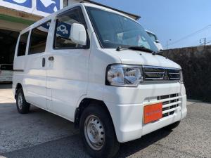 三菱 ミニキャブバン CLハイルーフ・4WD・5速・フロントPW・AC・キーレス