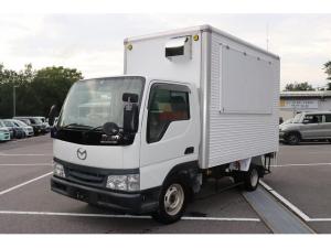 マツダ タイタンダッシュ  移動販売車 キッチンカー AT 販売窓 換気扇 ナチュラル塗装済 ベース車両 応援キャンペーン♪新品3槽シンクプレゼント♪(W=1200 D=450 H=800) 作成、内装、届出などご相談ください。
