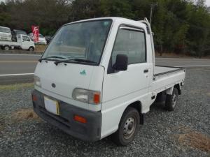 スバル サンバートラック  2WD 5MT エアコン無 パワステ無