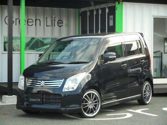 【GreenLife 厳選中古車!!】 お早めに♪ タイヤホイール新品!!車検対応ローダウン!