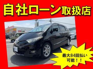 トヨタ エスティマ 2.4アエラス Gエディション 4WD・自社ローン・全国対応・頭金不要・保証人不要・84回払い可・1年保証付