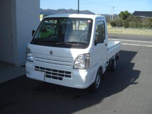スズキ キャリイトラック 4WD 5速マニュアル 軽トラ エアバッグ 登録済未使用車