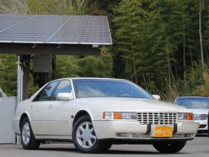 キャデラックセビル ツーリング 本革シート・純正ナビ当時もの・V8ノーススター