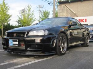 日産 スカイライン GT-R VスペックII 4WD ワンオーナ nismoパーツ純正保管 ナビ