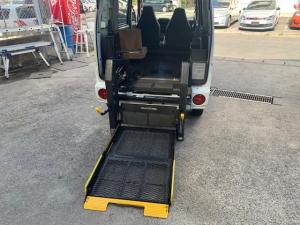 三菱 ミニキャブバン ハイルーフ 福祉車両 リモコン電動リフト 車イス固定装置
