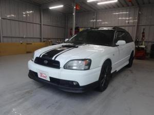 スバル レガシィツーリングワゴン GT-B E-tuneII 4WD車/ターボタイマー/ETC/社外マフラー/ブラック塗装済みアルミホイール/純正HIDライト/5速MT車/車検令和4年2月迄/