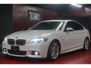 BMW 5シリーズ 528i Mスポーツ 左ハンドル SR 本革 デジタルメータ