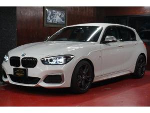 BMW 1シリーズ M140i エディションシャドー 衝突軽減ブレーキ レーンキープ バックカメラ 本革シート パドルシフト プッシュスタート バックカメラ 可変Mサス Mスポーツブレーキ 歩行者警告