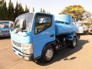 三菱ふそう キャンター 3t積載バキュームカー H24年式 糞尿車 モリタVBR430H ターボ付 走行13万キロ