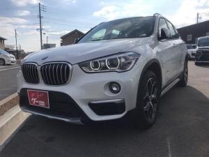 BMW X1 sDrive 18i xライン ナビ バックカメラ LED AW オーディオ付 DVD ETC 5名乗り 衝突被害軽減システム クルコン スマートキー