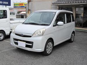 スバル ステラ L キーレス フル装備 純正CD ETC 軽自動車 ホワイト