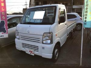 スズキ キャリイトラック KCエアコン・パワステ MT 軽トラック ホワイト