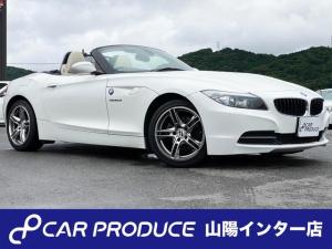 BMW Z4 sDrive23i 白レザー HDDナビ シートヒーター