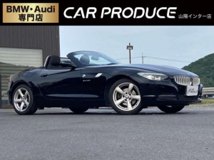 BMW Z4 sDrive23i 純正ナビ・パドルシフト・ミラー型ETC・17インチアルミ・TV視聴・プッシュスタート・オートライト・オートワイパー・電動パーキングブレーキ