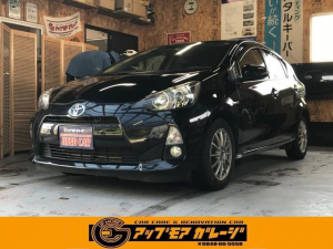 トヨタ アクア S スマートキー バックカメラ ナビ ETC 社外アルミ