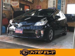 トヨタ プリウス S ナビ 地デジ DVD Bluetooth/バックカメラ ETC スマートキー&プッシュスタート オートエアコン Wエアバック ABS