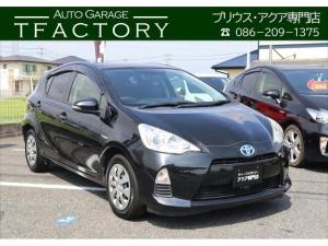 トヨタ アクア S スマートキー/プッシュスタート/ナビ/バックカメラ