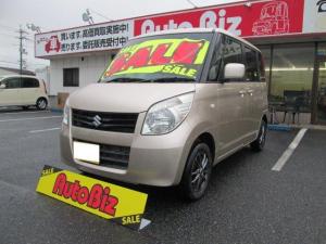 スズキ パレット G 4WD ABS シートヒータ 両側スライド CD アルミ