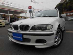BMW 3シリーズ 318iツーリングMスポーツ HDDナビ ハーフレザーシート