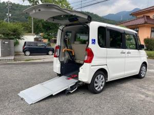 """ダイハツ タント スローパー X """"SAII"""" リヤシート付仕様 福祉車両 車いす仕様車 両側(左側電動)スライドドア TVナビ バックカメラ Bluetooth接続可 ETC スマートキー"""