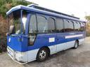 日産/シビリアンバス SVベース29人乗り レトロ調バスモケットシートスィングドア
