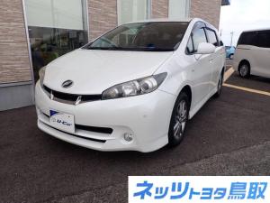 トヨタ ウィッシュ 1.8Sモノトーン 純正HDDナビ 禁煙車