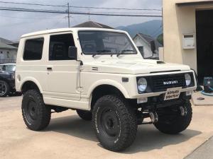 スズキ ジムニー  4WD リフトアップ 外アルミ 外バンパー 新品タイヤ エンジンオーバーホール渡し
