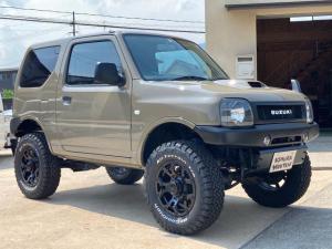 スズキ ジムニー XG リフトアップ リビルトエンジン交換渡し 新品タイヤ 社外バンパー 新品マフラー 新品ホイール シートカバー 社外テール 5速MT キーレス ETC CD ツイーター
