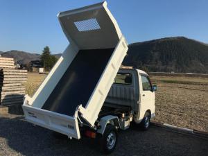 ダイハツ ハイゼットトラック 多目的ダンプ PTOダンプ 4WD AC PS 5速 3方開荷台 車検整備付