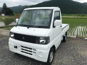 三菱 ミニキャブトラック VX-SE 4WD エアコン パワステ  5速 走行9.2万キロ Tベルト交換済 車検整備付