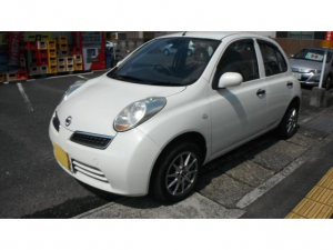 日産 マーチ 12S 走行5.5万車検R4 8月ナビ