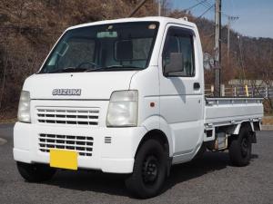 スズキ キャリイトラック KCエアコン・パワステ 4WD クラッチOH 記録簿