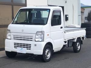 スズキ キャリイトラック KC エアコンパワステ3方開4WD5速