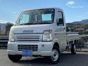 スズキ キャリイトラック KU エアコン パワステ 3方開 4WD 5速MT