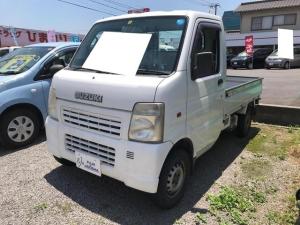 スズキ キャリイトラック KC AC MT 軽トラック ホワイト
