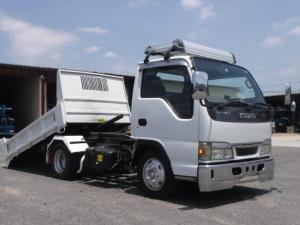 いすゞ エルフトラック H15年式いすゞエルフローダーダンプ!最大積載3t
