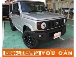 スズキ ジムニー XL 4AT パートタイム4WD 届出済み未使用車 月内納車可能です。 ドアバイザー フロアマットトレー ナンバープレートリム