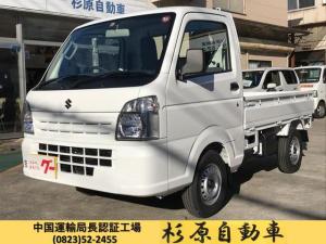 スズキ キャリイトラック KCエアコン・パワステ 届出済未使用車 デモカーアップ