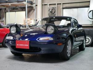 ユーノスロードスター Gリミテッド ワンオーナー車 オリジナル ソフトトップ新品 ダッシュボード&クラッシュパッド新品 走行1.1万Km