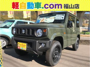 スズキ ジムニー XL 5速MT 4WD 届出済未使用車 衝突軽減システム