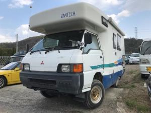 三菱 デリカトラック キャンピング車 4WD 5MT ナビ 流し台冷蔵庫 トイレ