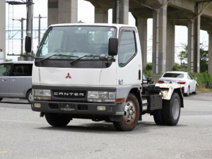 三菱ふそう キャンター 脱着式コンテナ専用車 アームロール フックロール 2トン 2t