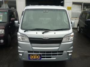 ダイハツ ハイゼットトラック エクストラSAIIIt 4WD オートマ 純正LEDヘッドランプ 純正LEDフォグ モケットシート