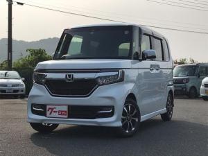ホンダ N-BOXカスタム G・L Honda SENSING 衝突被害軽減装置 リア左側パワースライドドア LEDヘッドライト スマートキー carrozzeria楽ナビ 地デジTV バックカメラ ETC Bluetooth機能