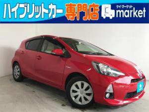 トヨタ アクア S オートエアコン 運転席・助手席シートヒーター キーレス