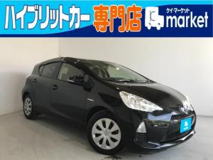 トヨタ アクア S CVT オートエアコン キーレスエントリー ワンオーナ―
