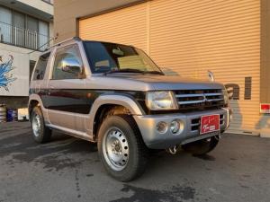 三菱 パジェロミニ リミテッドエディションXR 4WD CD MD キーレスエントリー 電動格納ミラー AT エアコン パワーウィンドウ