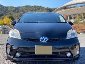 トヨタ プリウス G 後期モデル 地デジナビ Bluetoothオーディオ ブラックシート