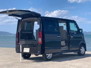 スズキ エブリイワゴン PZターボ ゴリラスタイル 車内泊仕様 家具 マット フルセグTVナビ Bluetooth機能 ETC